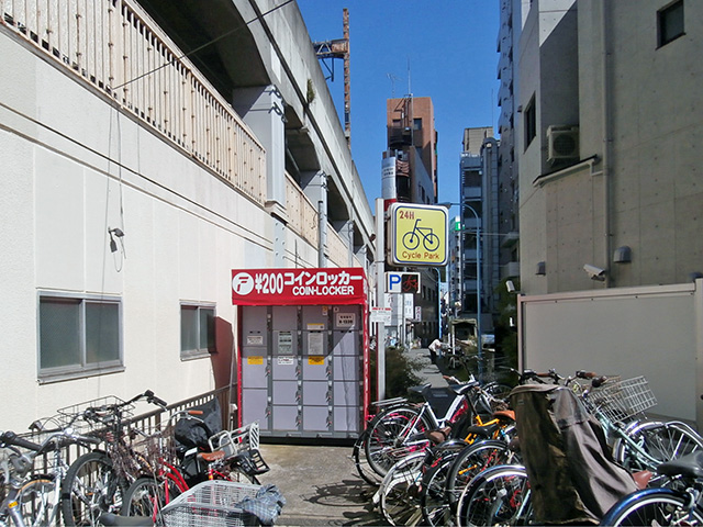 サイクルパーク阿佐ヶ谷南第2 のコインロッカー