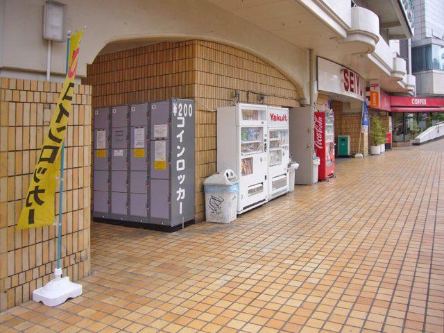 荻窪タウンセブン2Fのフジコインロッカー