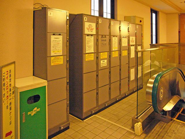 川越の温浴施設のフジコインロッカー