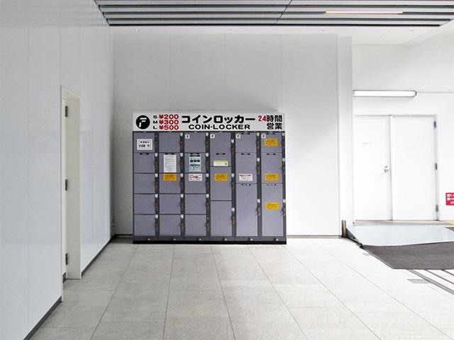 錦糸町の東京楽天地のフジコインロッカー