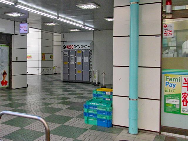 西葛西メトログルメ・ショッピングセンター4番街のフジコインロッカー